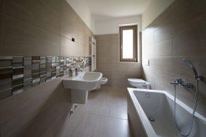 Interno di uno dei bagni