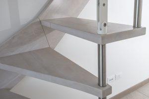 Particolare Scala in legno