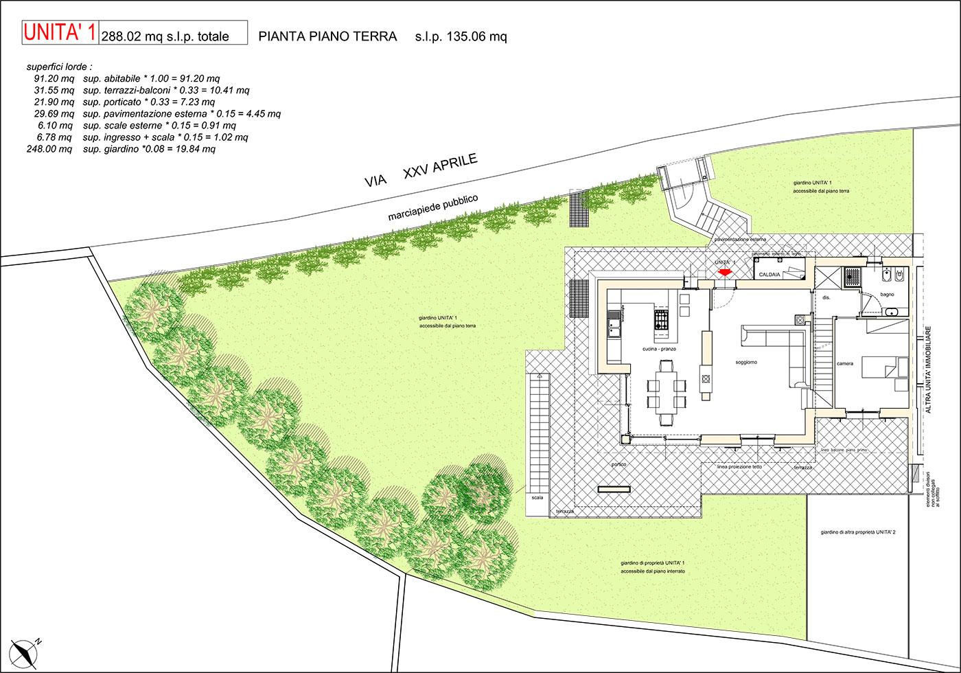 Residence al poggio planimetrie residence al poggio for Progettista del piano terra del garage